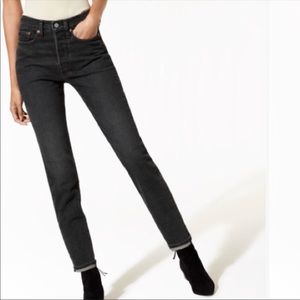 Wedgie Levi's Reformation Redone skinny 501 jeans